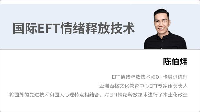 国际EFT情绪释放技术讲师