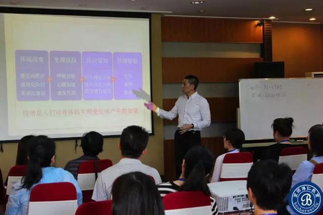 国际EFT情绪释放技术认证班开课现场